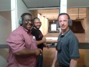 Kevin and Omar Martin Gun Range